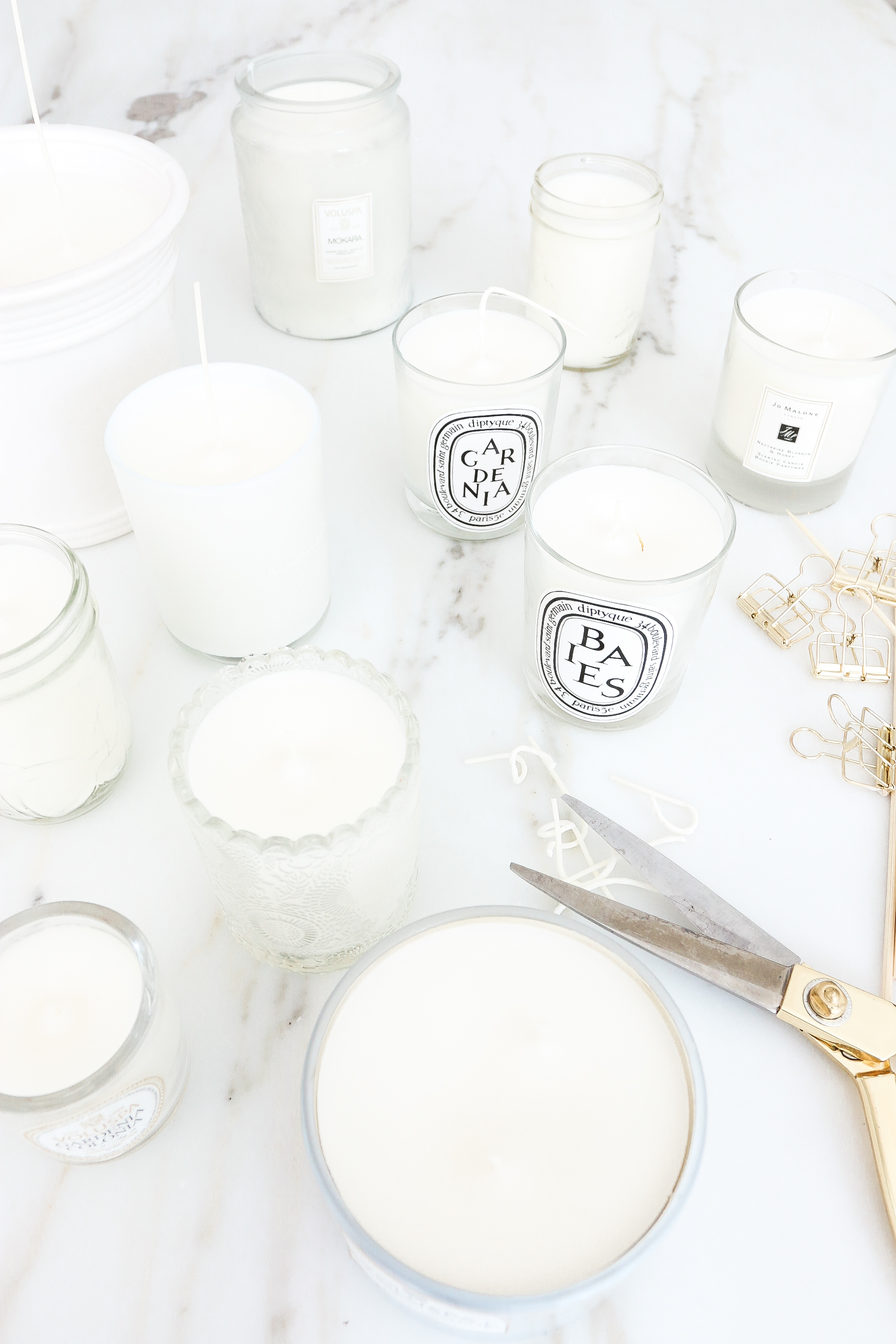 DIY Soy Candle refill How to get wax out of your candle jars Monika Hibbs