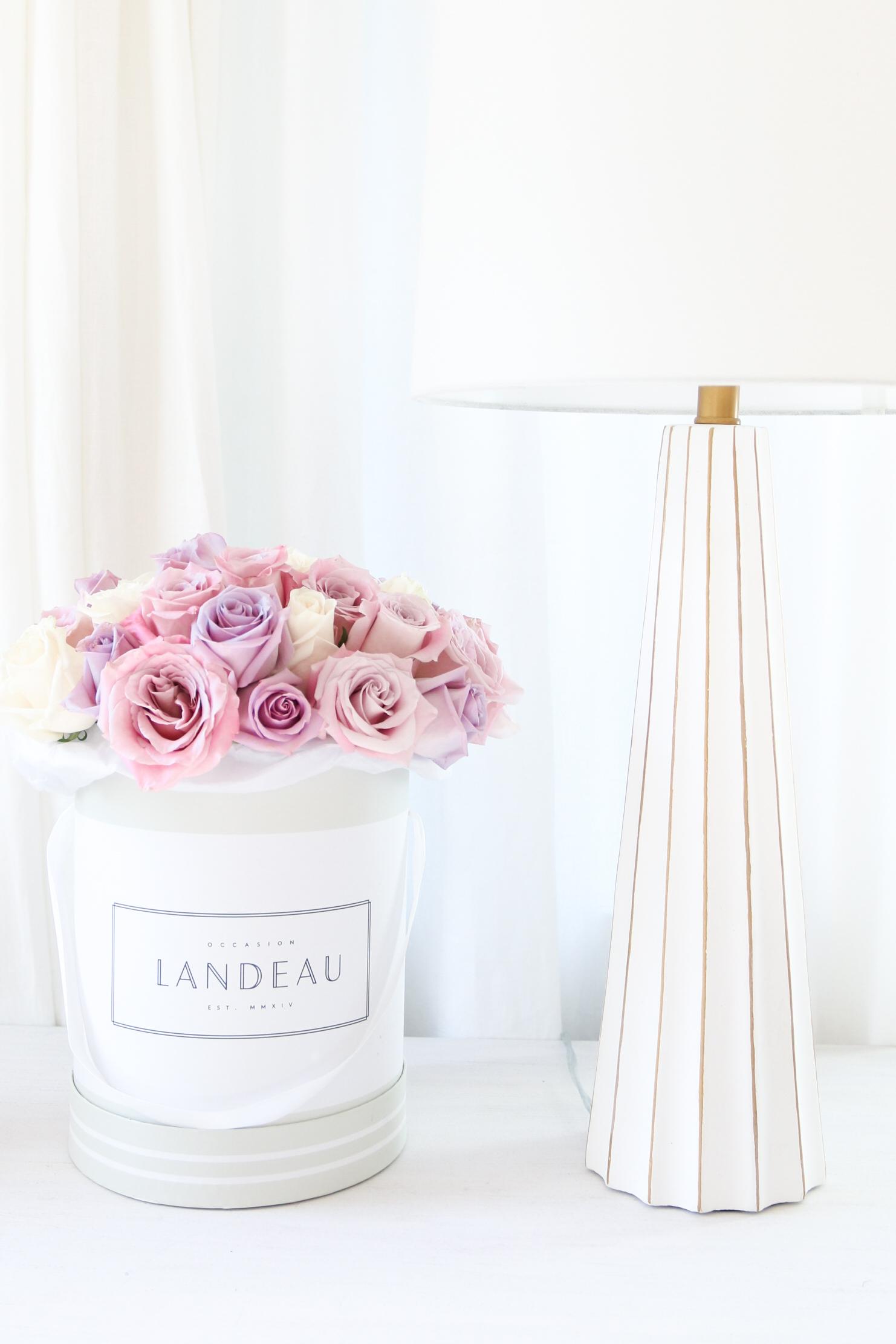 Landeau rosed in box bucket Monika Hibbs