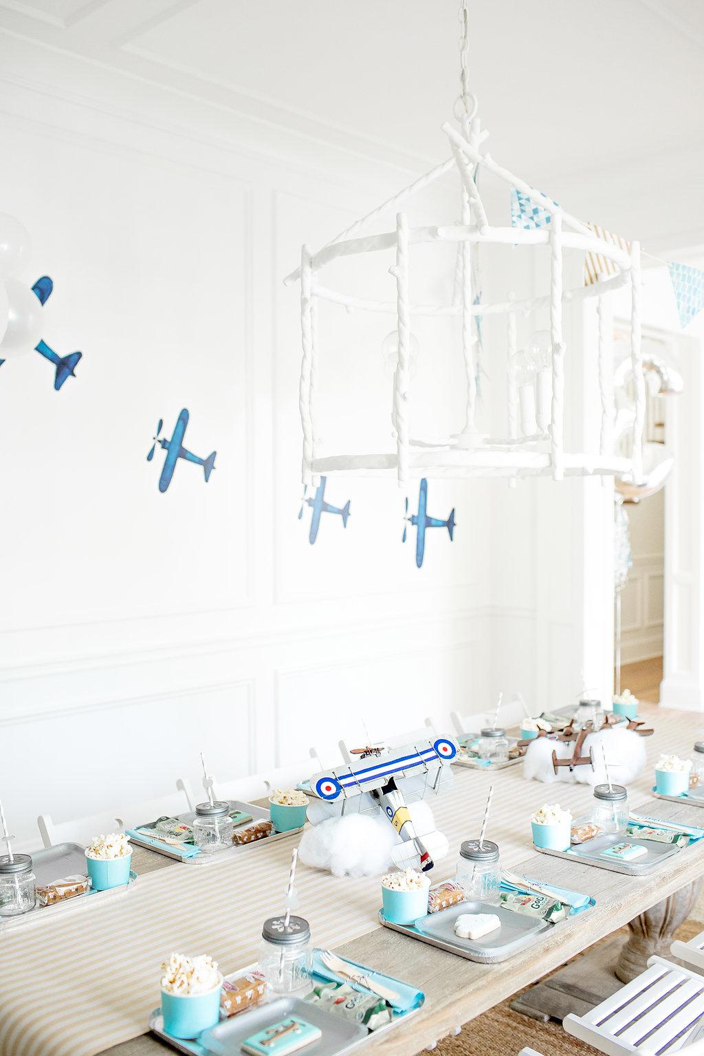 Airplane Birthday Party Monika Hibbs