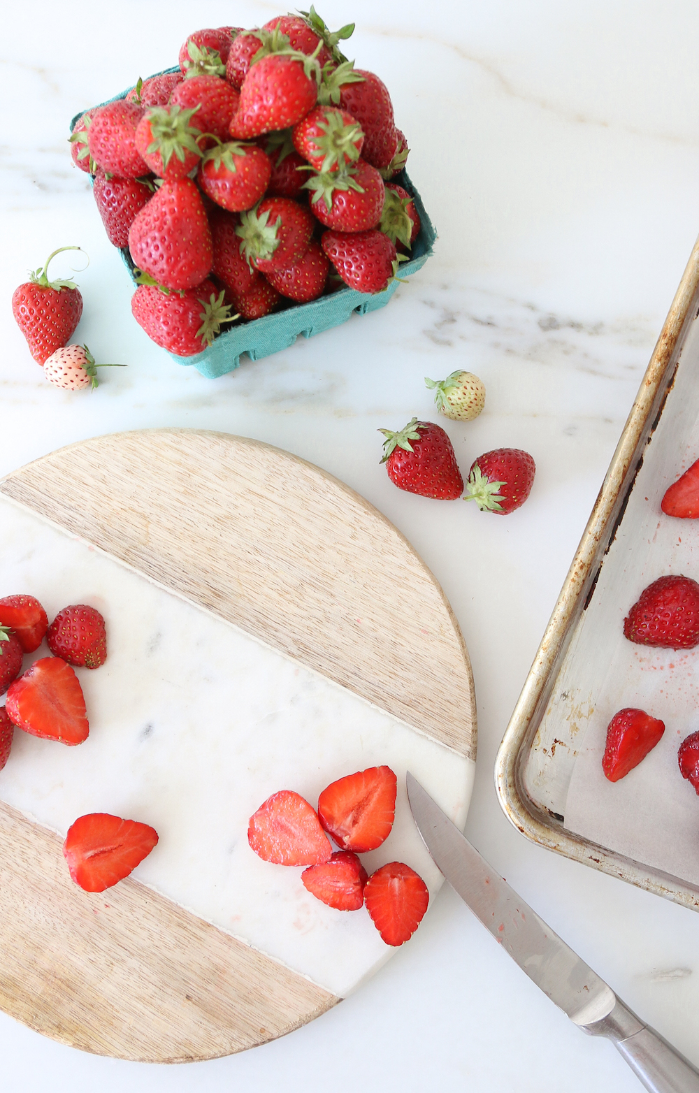Fresh Local Strawberries Almond Milk Recipe DIY Monika Hibbs