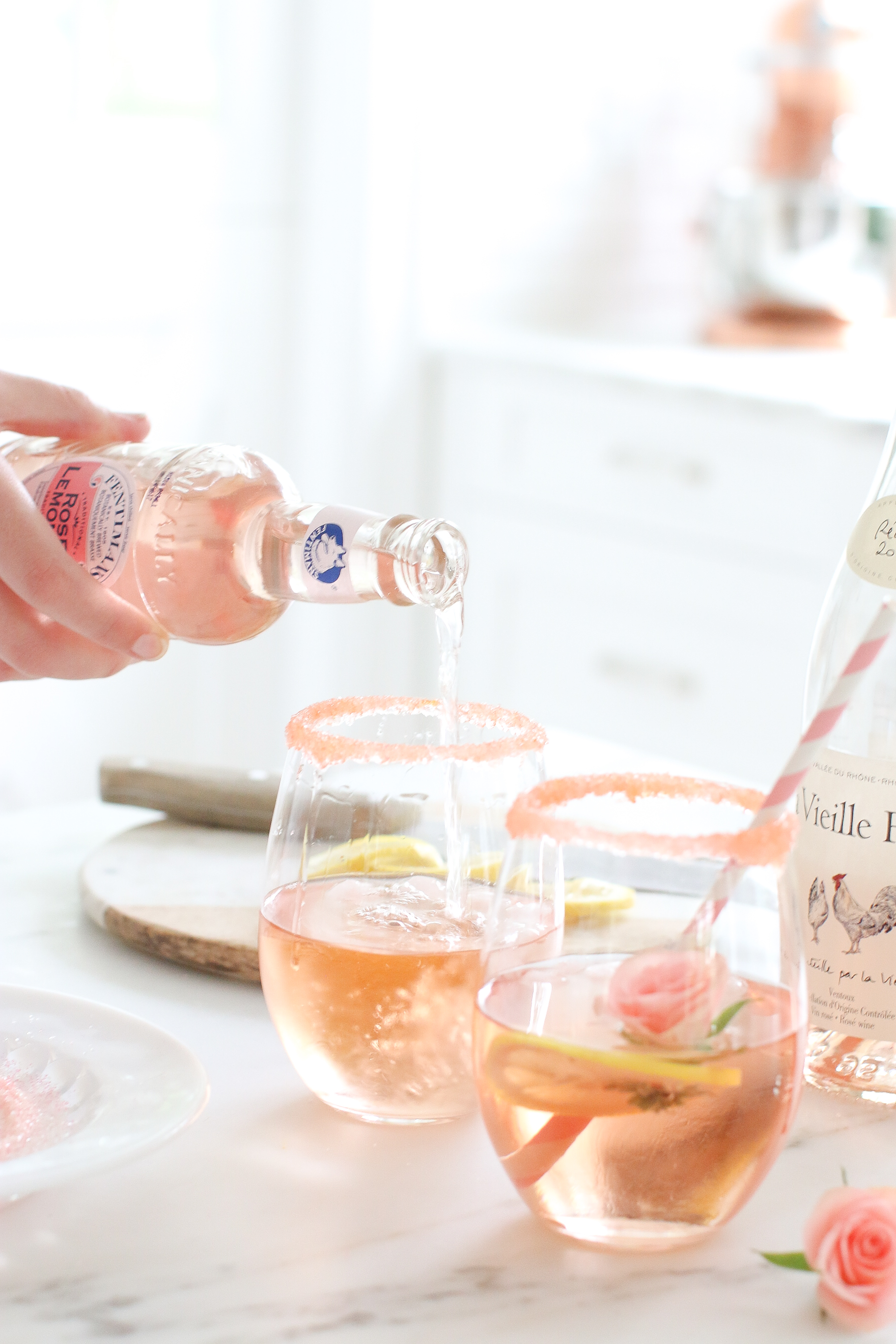 National Rosé day Recipe Monika Hibbs