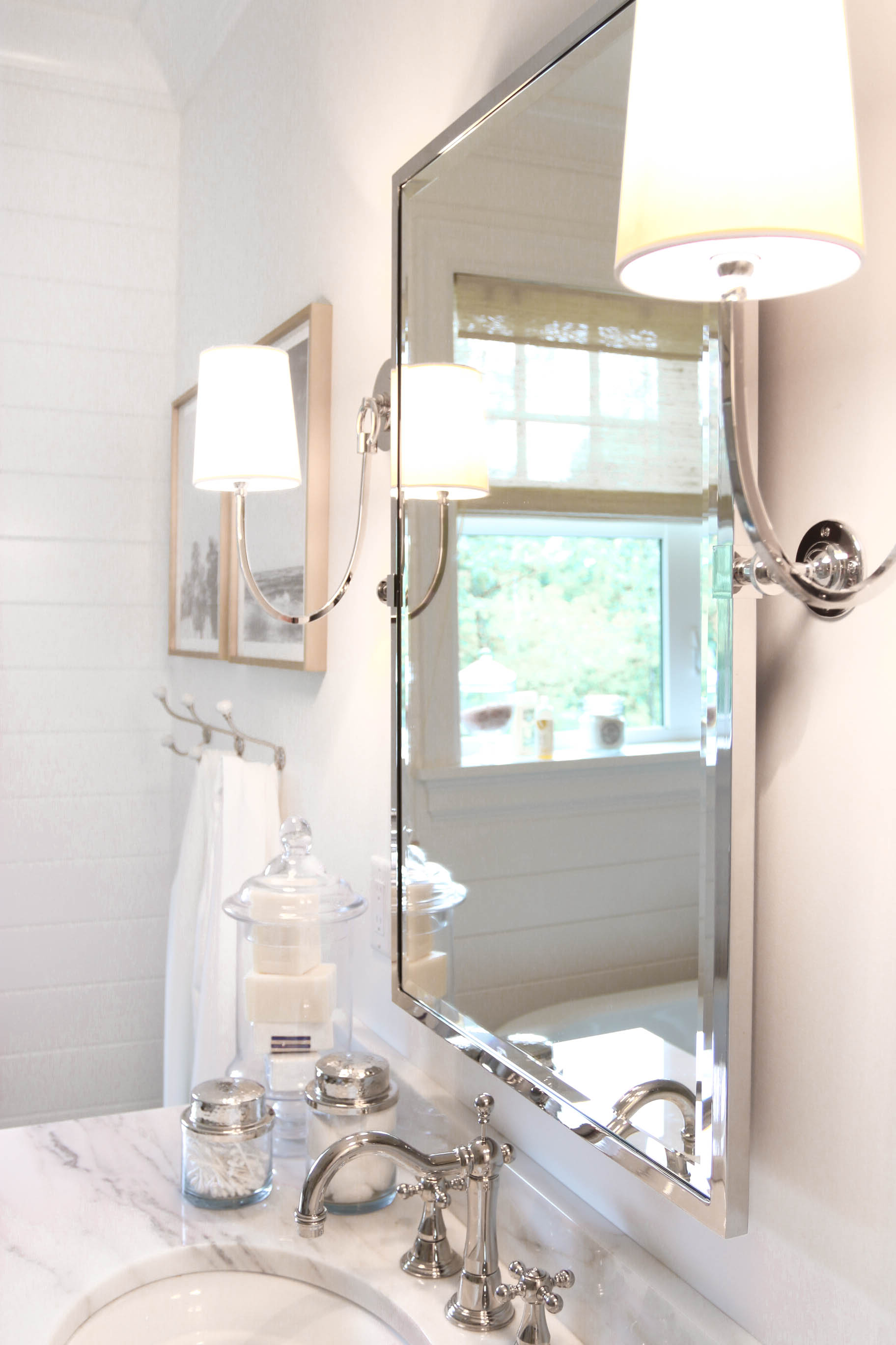 Bathroom Home Lighting Sylvania Sconces Monika Hibbs