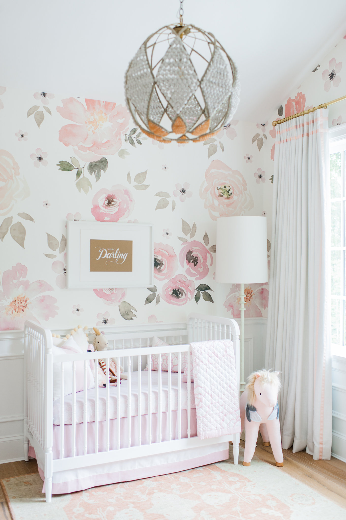 My Sweet Girl Lillya S Nursery Monika Hibbs A Lifestyle Blog