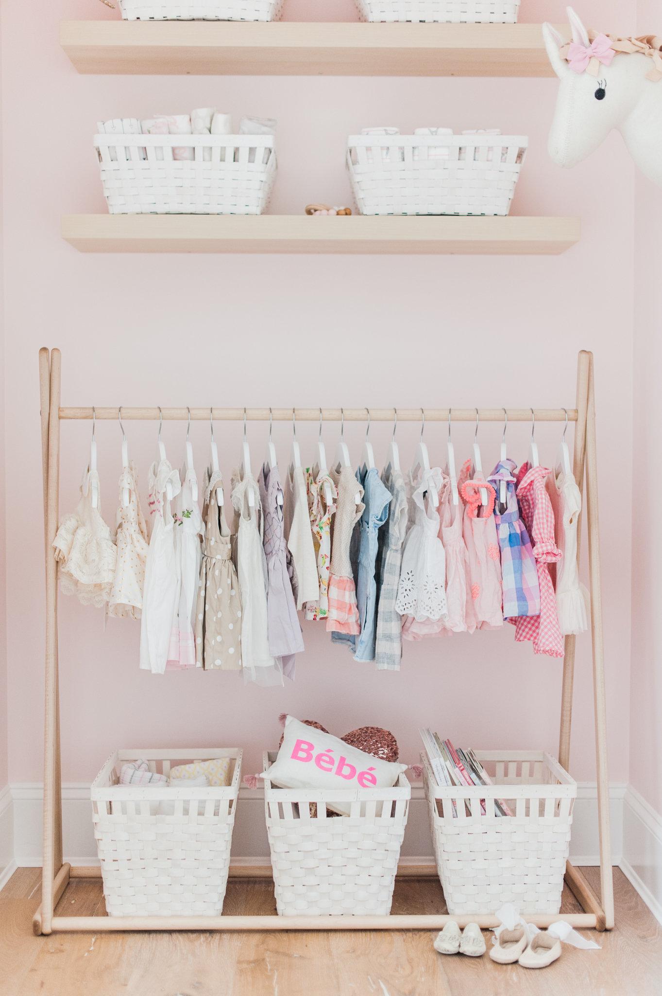 Girl Nursery Closet Monika Hibbs Lillya Grace