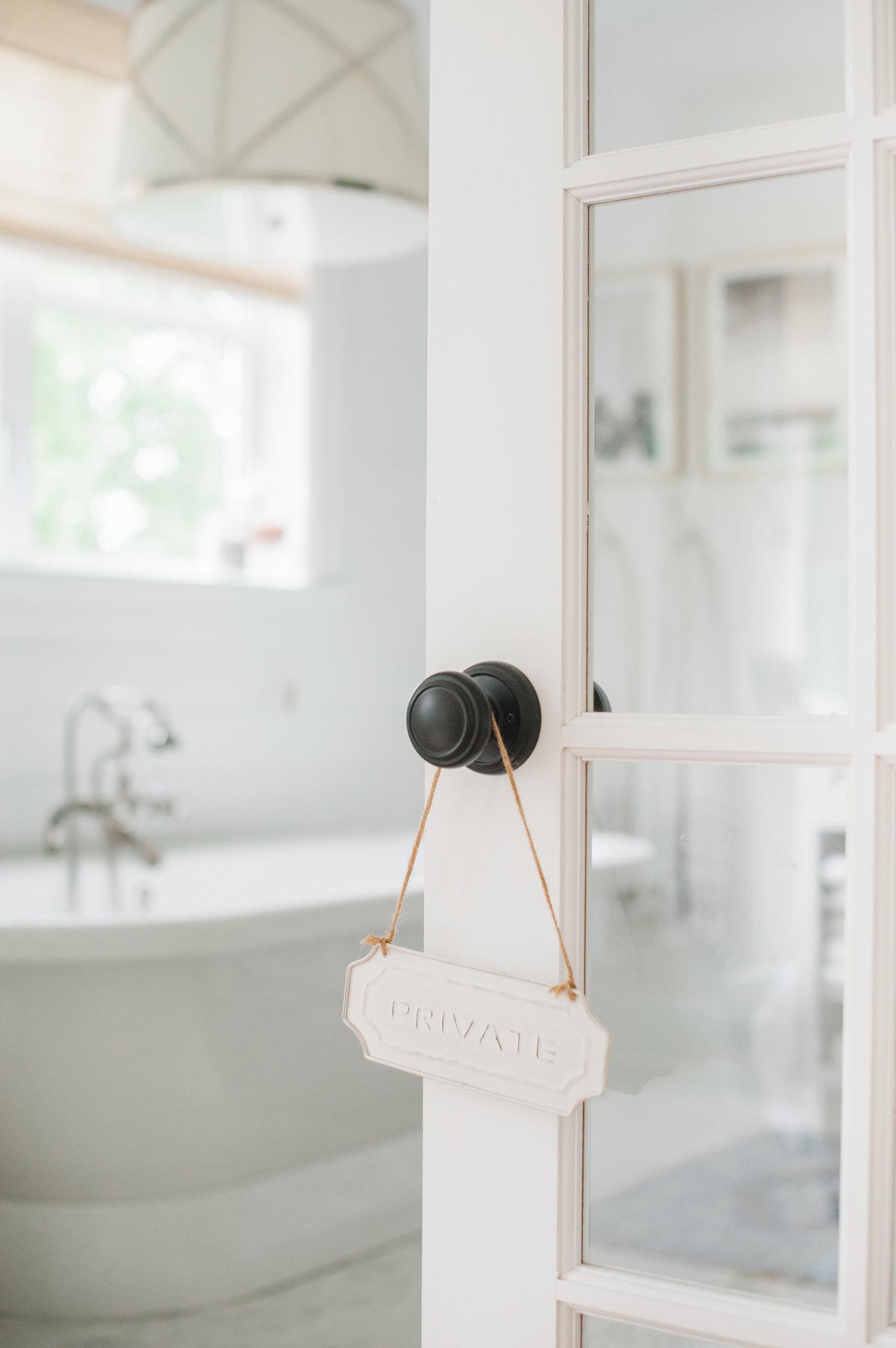 Bathroom White Cross Design MH Home Monika Hibbs