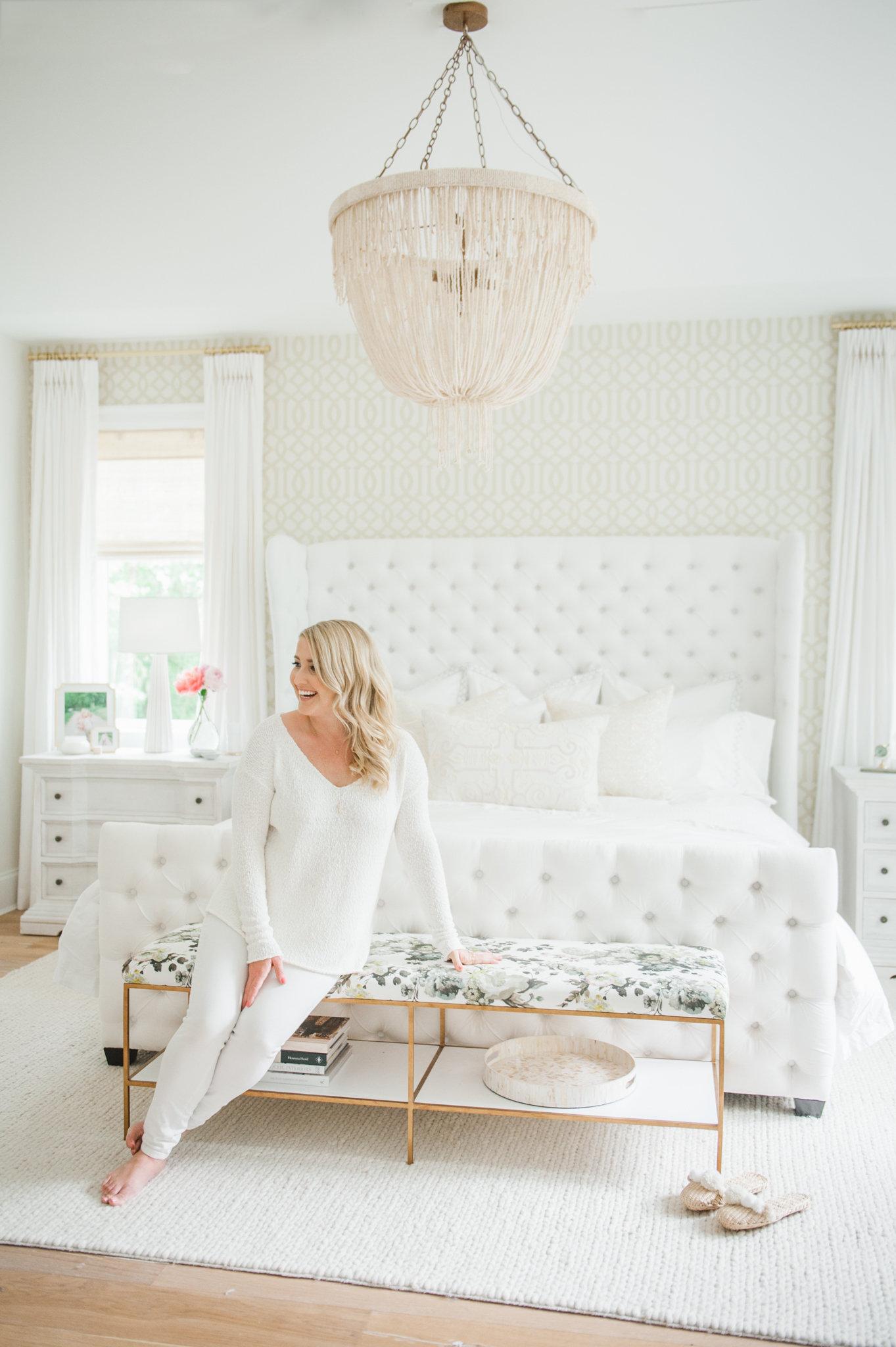 Monika Hibbs Bedroom Reveal