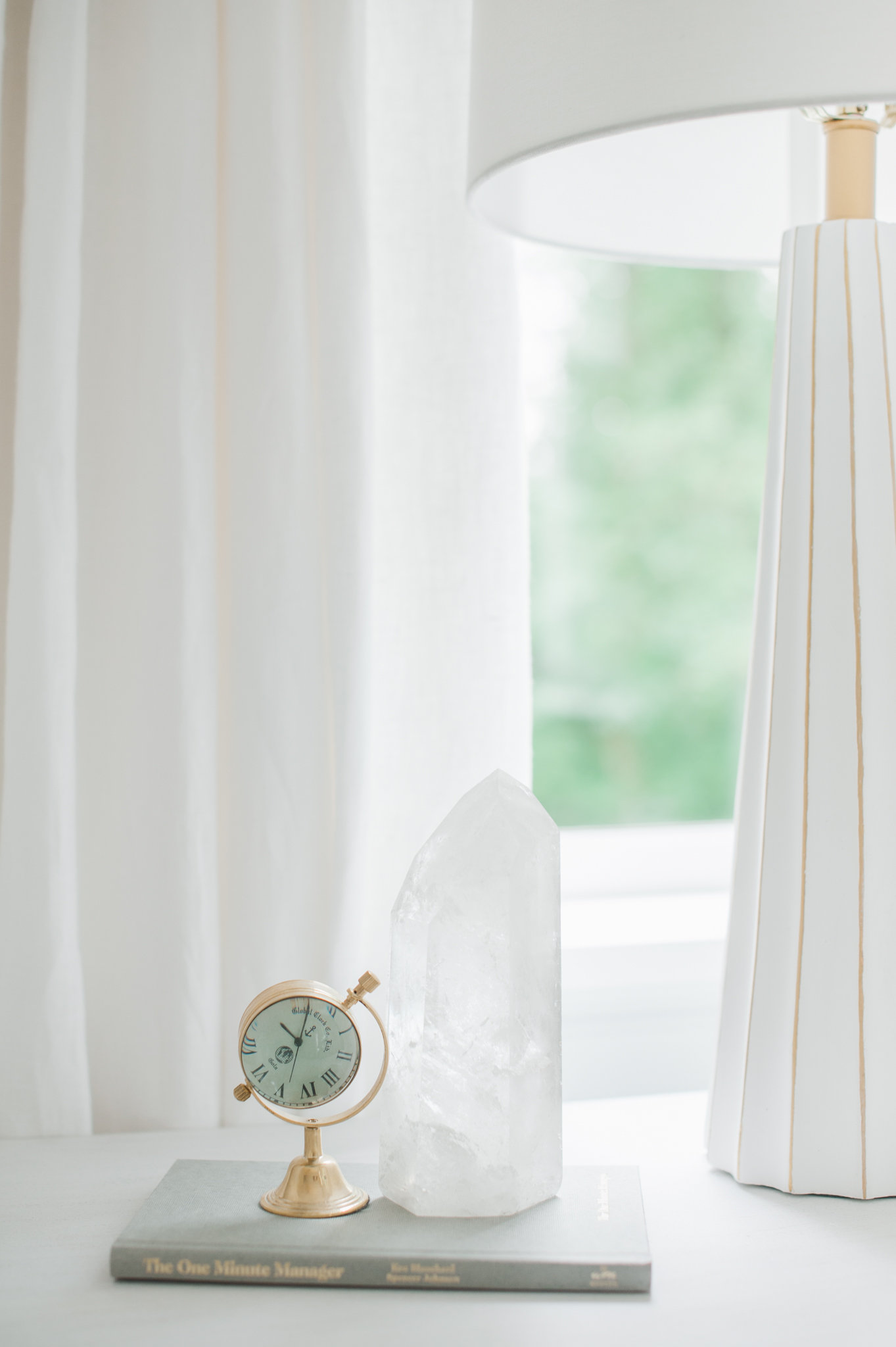 Master Bedroom Night Stand Cross Design MH Home Monika Hibbs