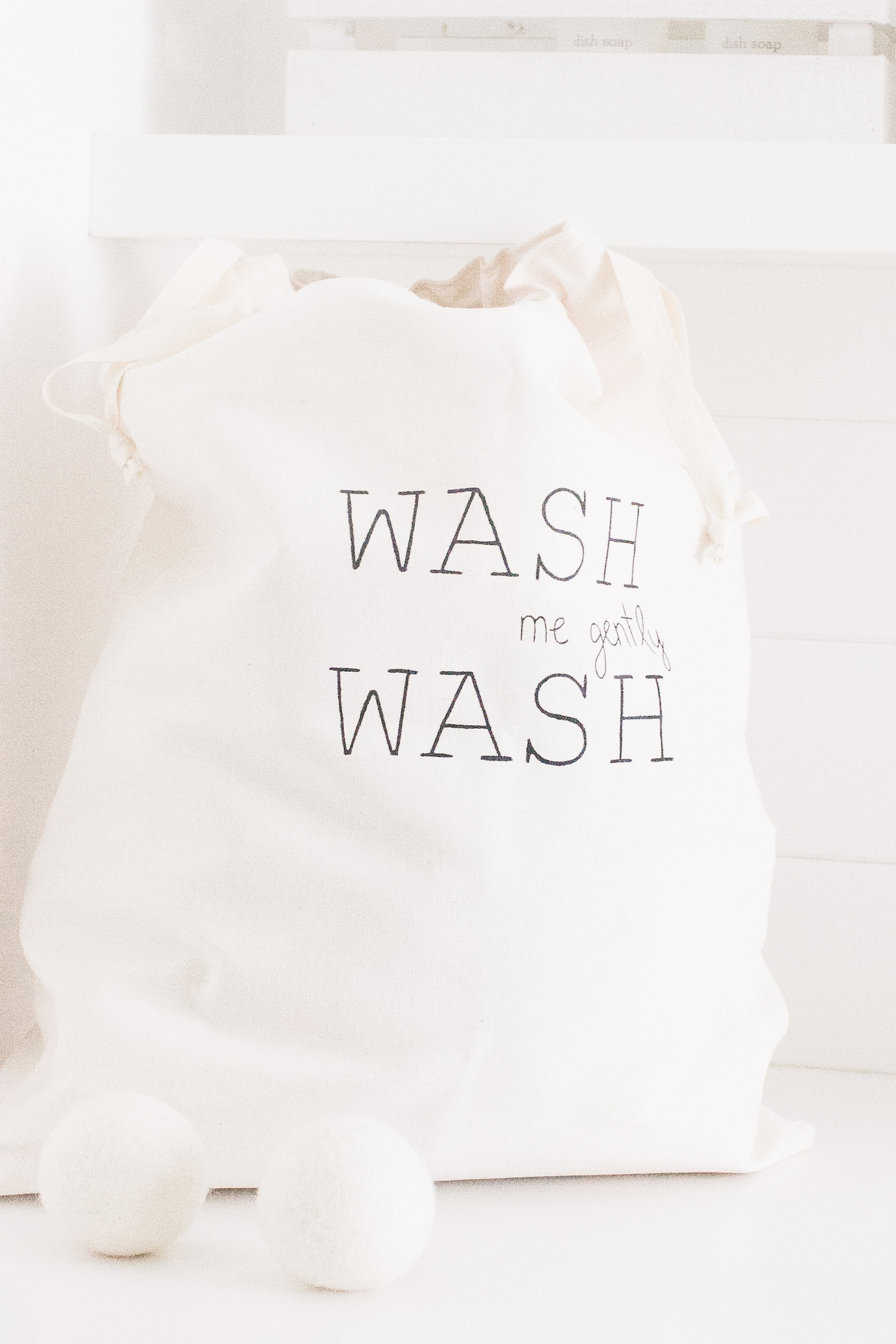 Laundry Mudroom Wash Dryer Balls Laundry Bag Monika Hibbs