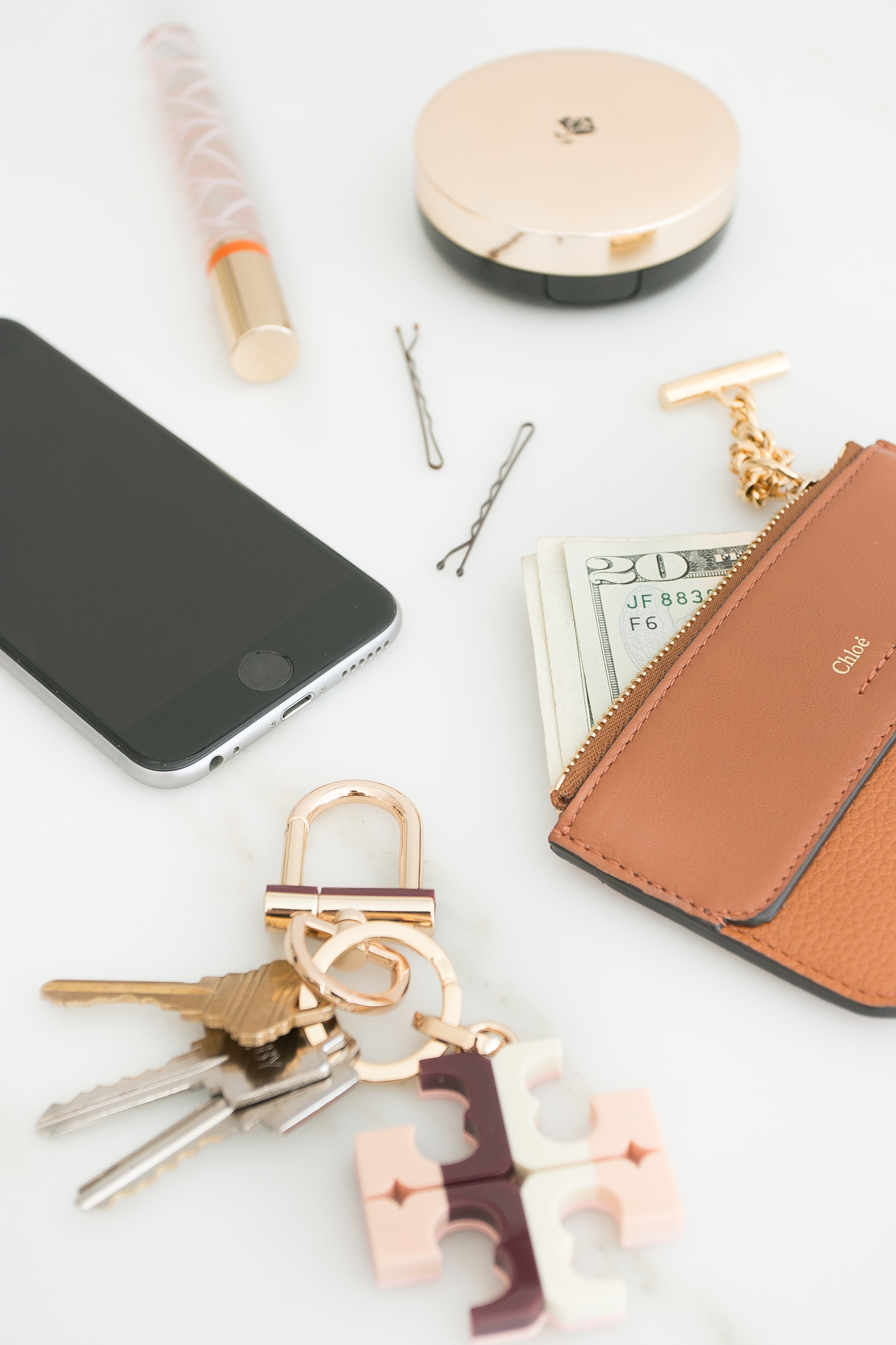Lancome Chloe Clutch Essentials Make up Monika Hibbs