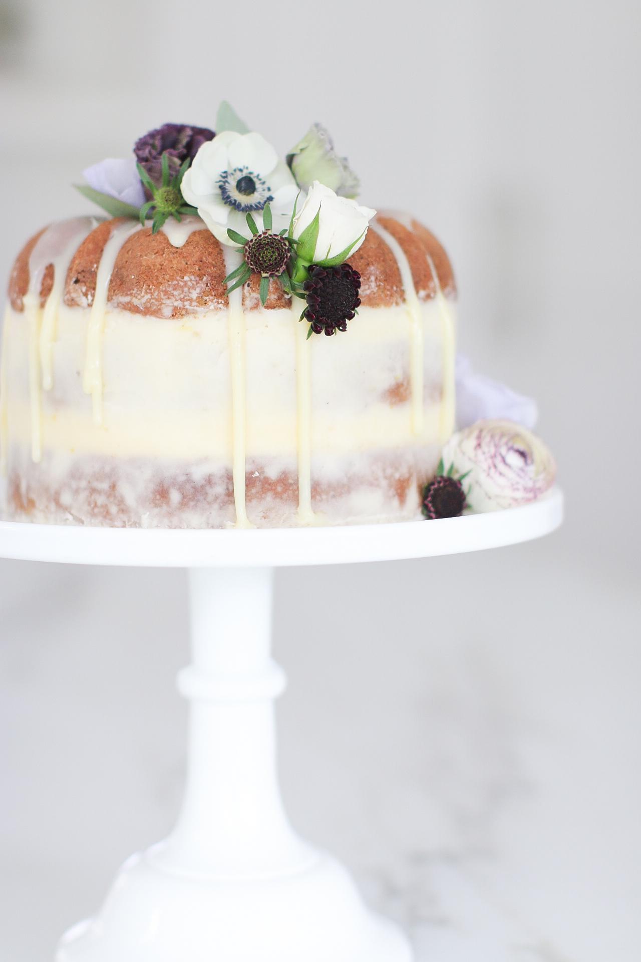 Earl Grey bundt Naked Cake Recipe Monika Hibbs