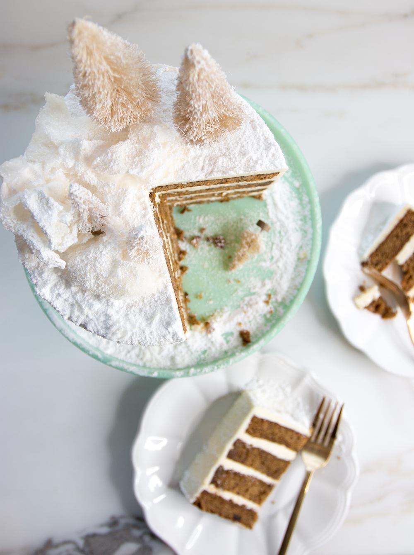 Sticky Date Gingerbread Layer Cake Monika Hibbs